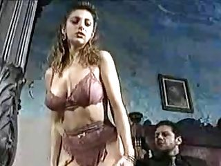 Sexy Chick In Old-school Porno Movie 1